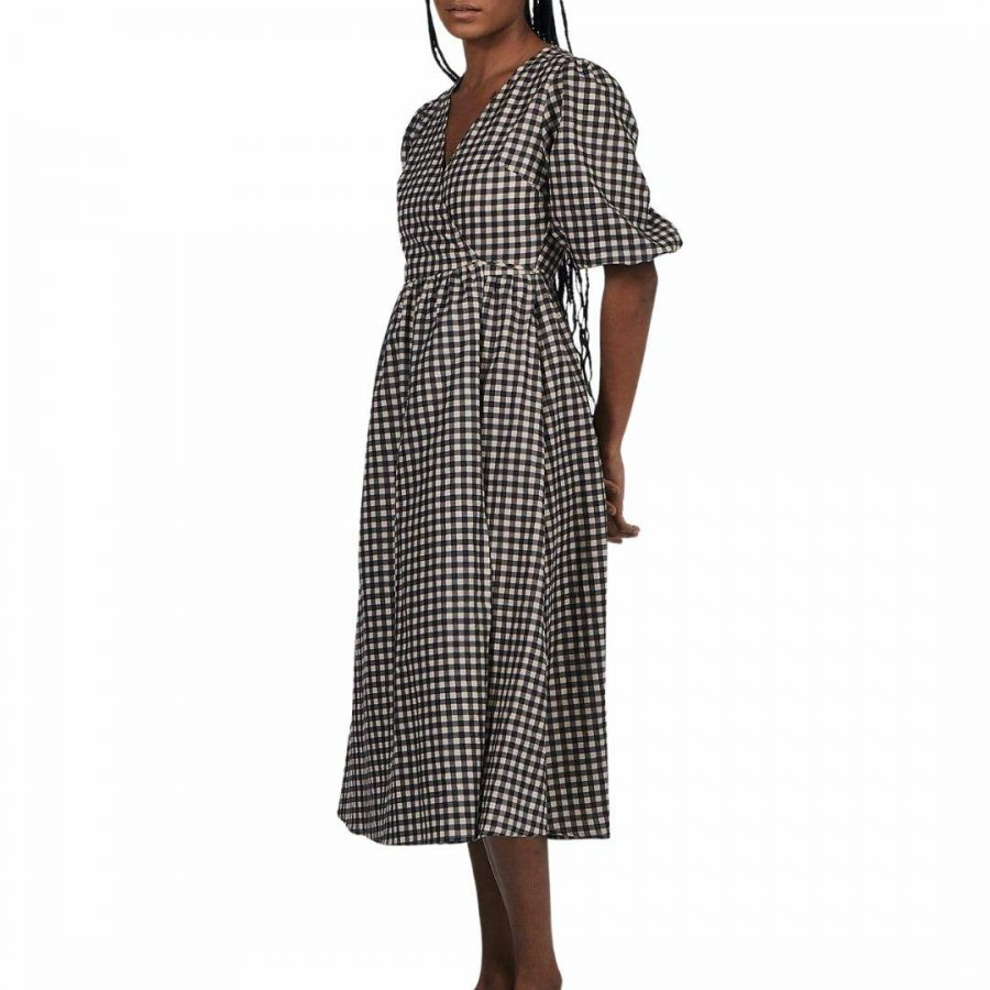Sally Wrap Dress Womens Skirts And Dresses Colour is Gingham