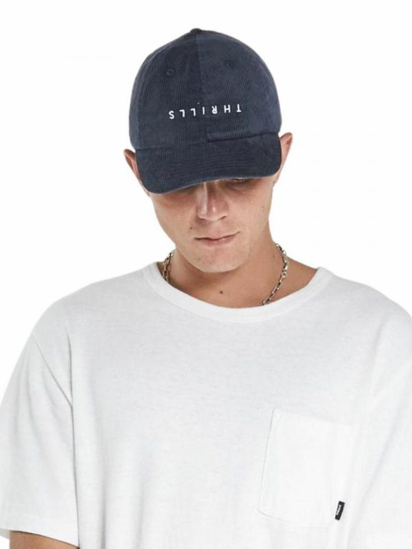 Minimal 6 Panel Cap Mens Hats Caps And Beanies Colour is Ink
