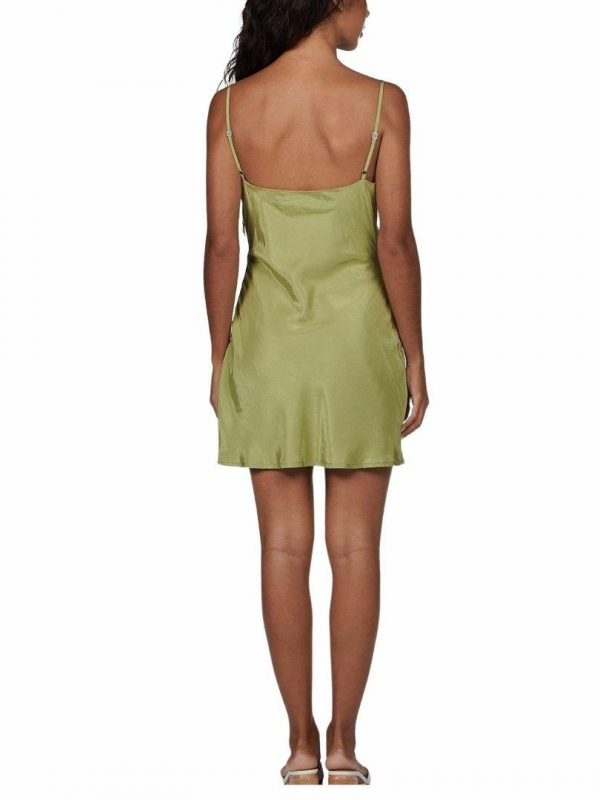 Kenzie Dress Womens Skirts And Dresses Colour is Sage
