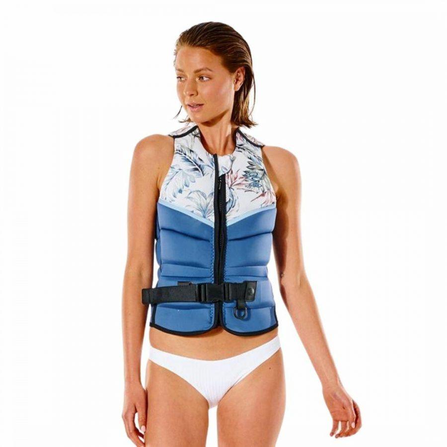 Wmns E Bomb Pro Buoy Womens Bouyancy Vests Colour is Slate Blue