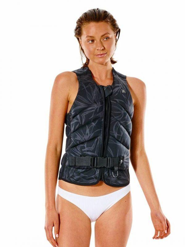 Wmns.d Patrol Pro Buoy Ve Womens Bouyancy Vests Colour is Black/grey
