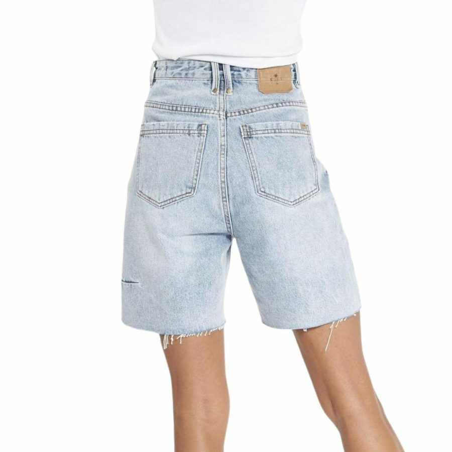 Pulp Short Womens Walkshorts Colour is Aged Blue