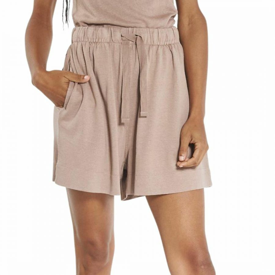 Hemp Field Short Womens Walkshorts Colour is Yak