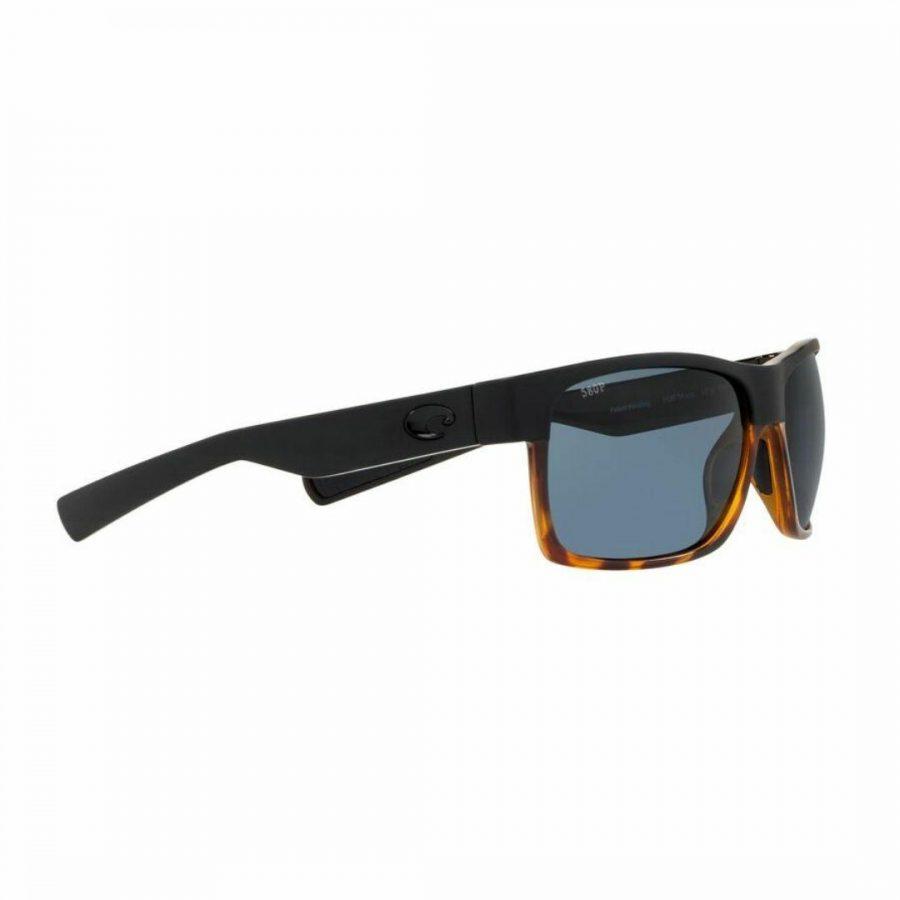Half Moon 181 Mens Sunglasses Colour is Black Shiny Tort