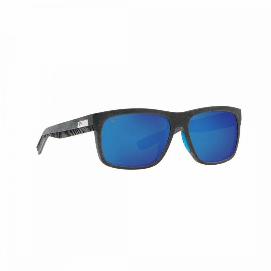 Baffin (grey Blue Rubber) Mens Sunglasses Colour is Gray Blue Mirror