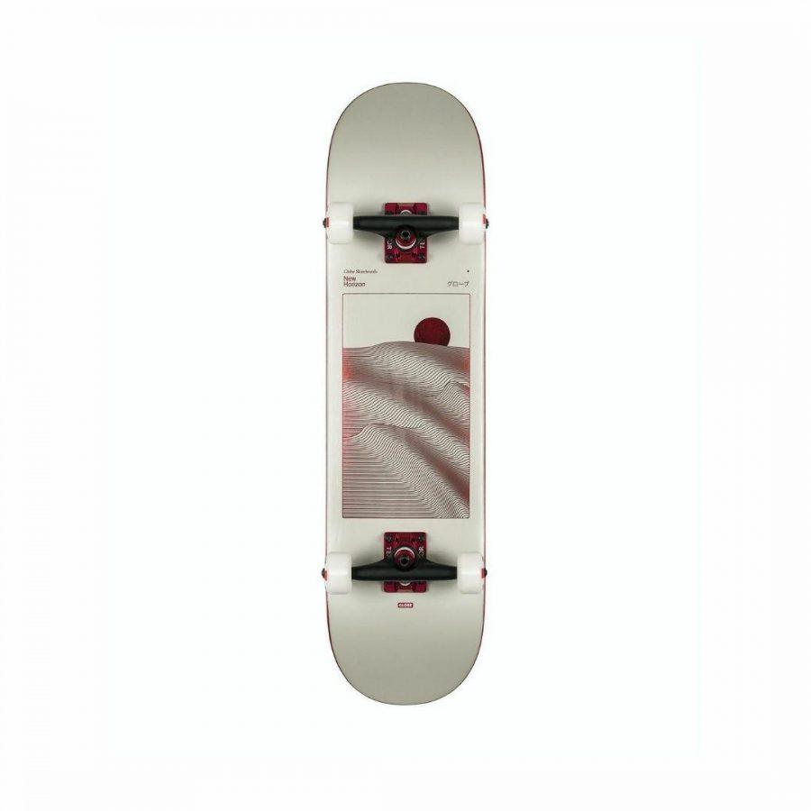 G2 Parallel Mens Skate Boards Colour is Off White Foil Horiz