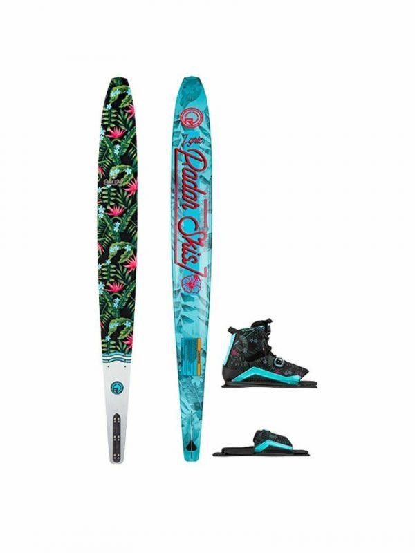 Radar Lyric W Boa Package Womens Water Skis Colour is Tropical