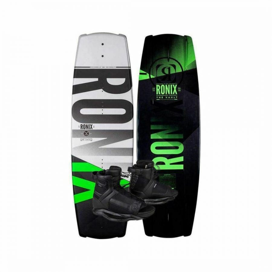 Vault Package Mens Wake Boards Colour is Black And Green
