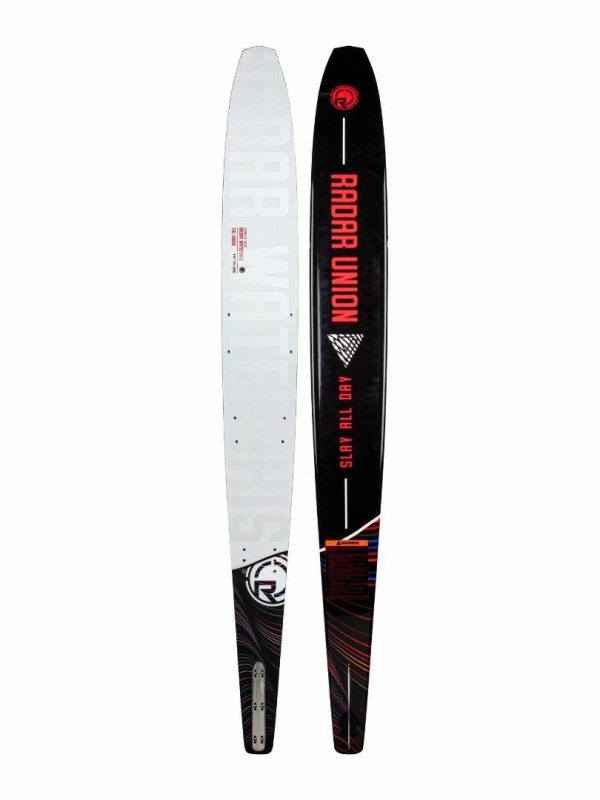 2022 Womens Union Womens Water Skis Colour is White Pearl Coral