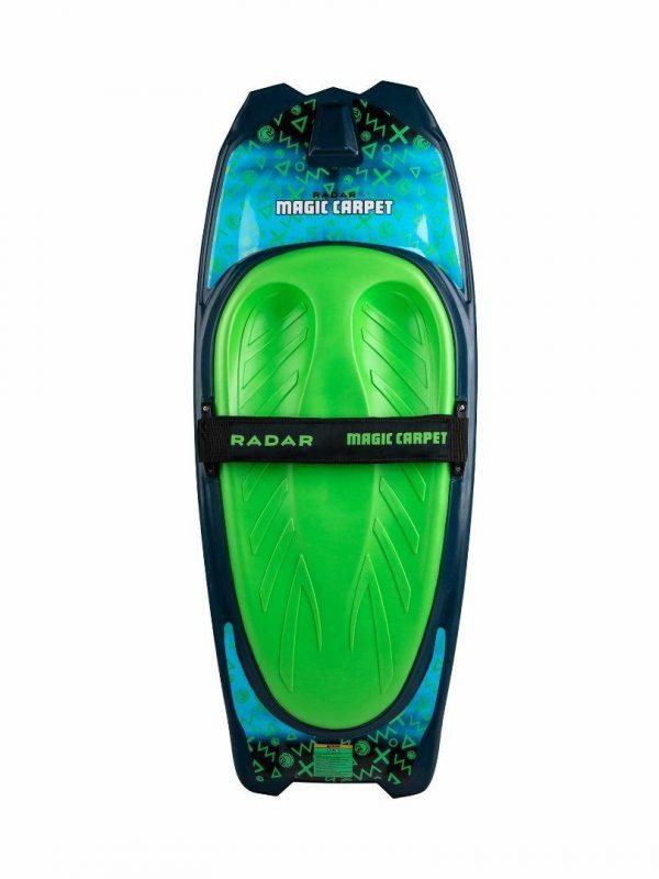 Magic Carpet Kneeboard Unisex Bodybrds Colour is Teal Fluro Green