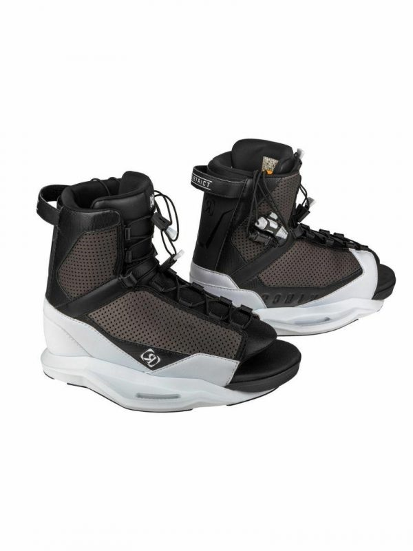 District Boots Mens Wake Boards Colour is White Black