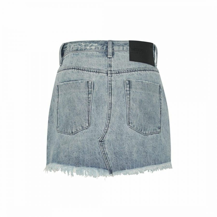Salty Dog Denim Skirt Womens Skirts And Dresses Colour is Salty Dog
