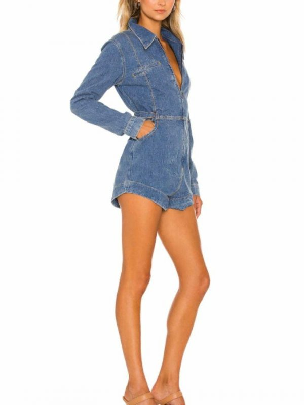Margot Jumpsuit Womens Skirts And Dresses Colour is Resort Blue