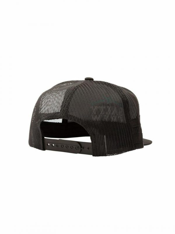 Skipjack Trucker Mens Hats Caps And Beanies Colour is Black