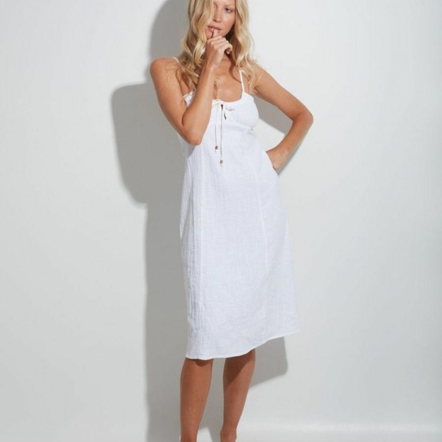 Daydream Dress Womens Skirts And Dresses Colour is White