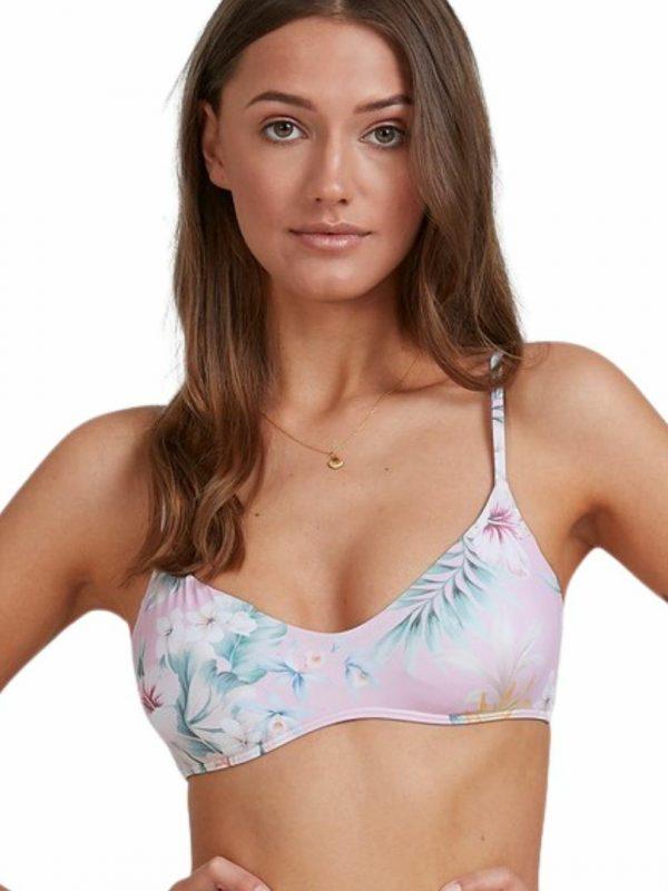 Tropicool V Brale Womens Swim Wear Colour is Pink