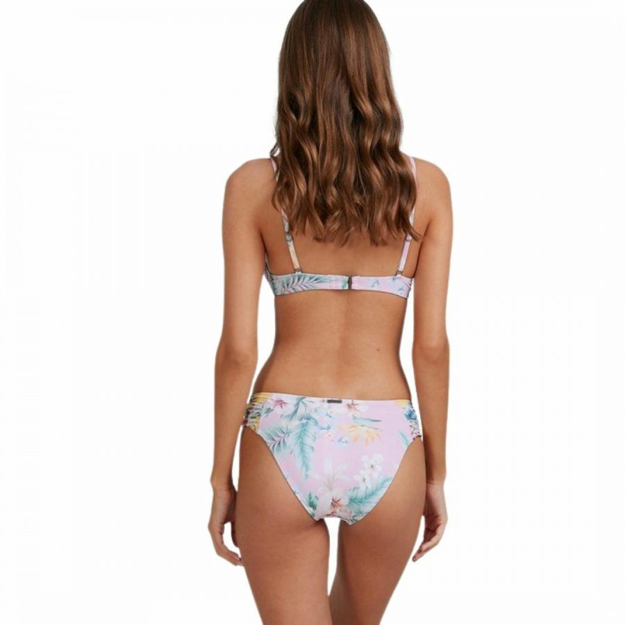 Tropicool Gathere Womens Swim Wear Colour is Pink