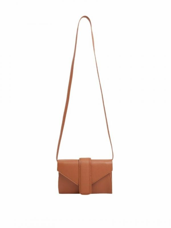 Izzy Carry -blue Womens Travel Bags And Backpacks Colour is Tan