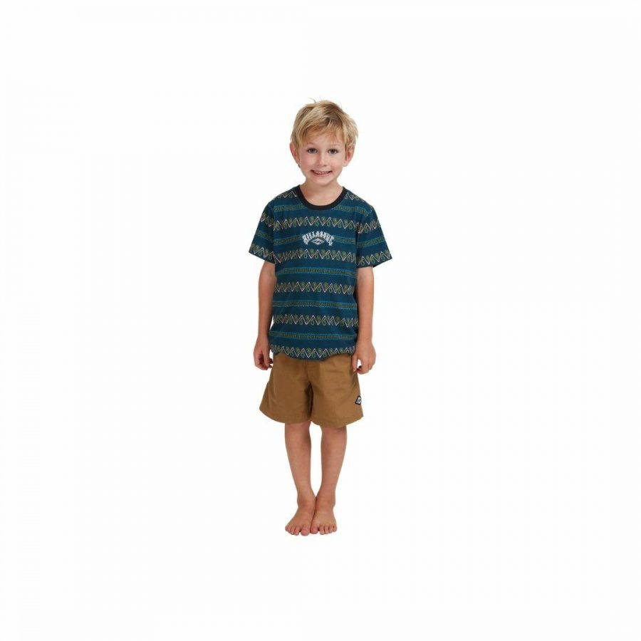 Full Rack Ss Kids Toddlers And Groms Tee Shirts Colour is Navy