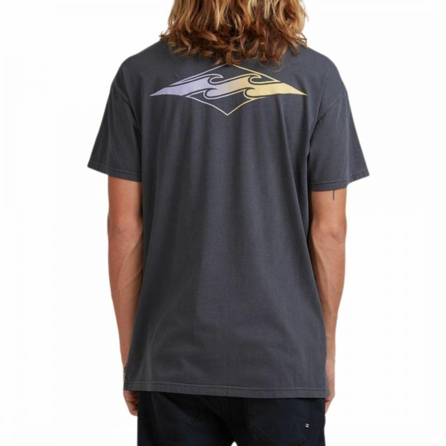 Core Diamond Ss Mens Tee Shirts Colour is Washed Black