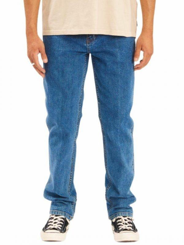 73mwhz Hemp Jean Mens Pants And Jeans Colour is Ocean Blue