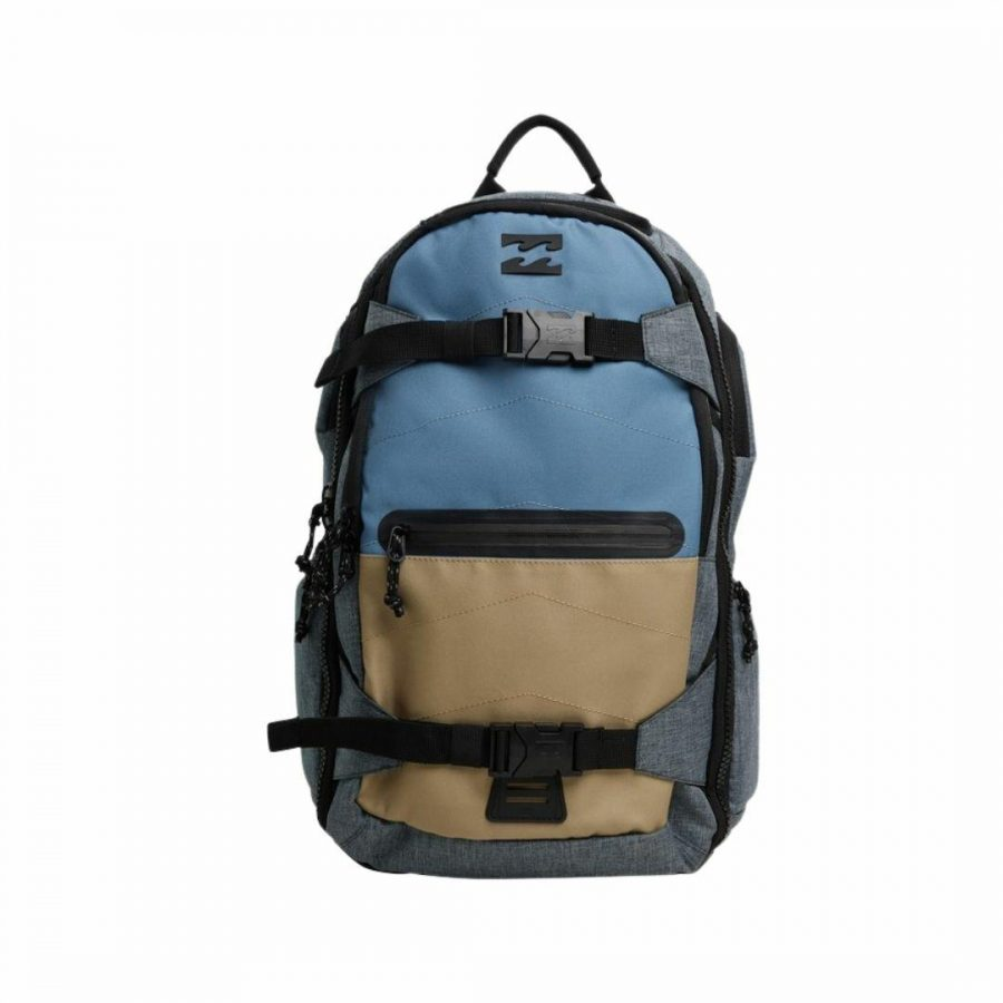 Combat Pack Mens Travel Bags And Backpacks Colour is Navy Heather