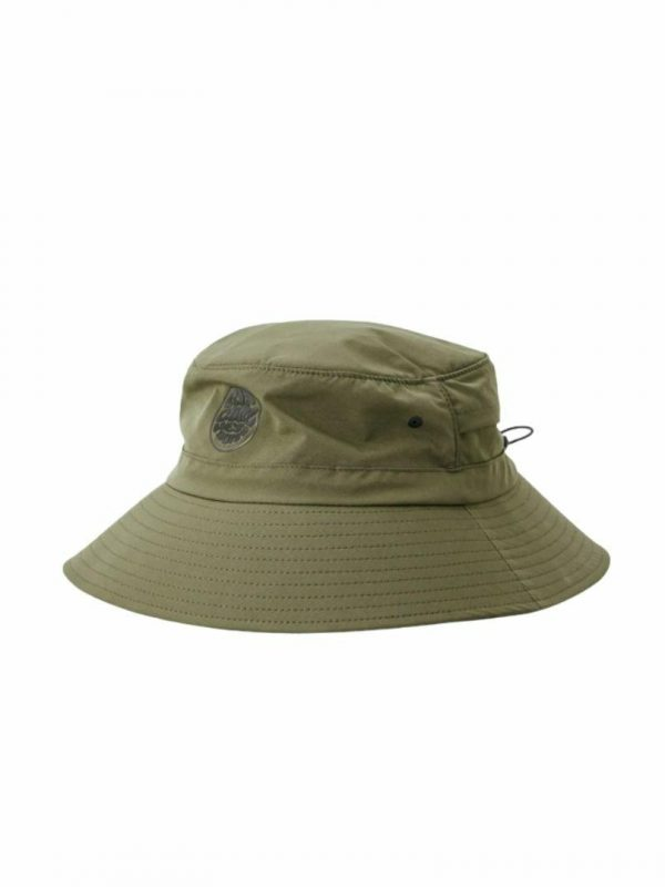 Surf Series Bucket Hat Mens Hats Caps And Beanies Colour is Dark Olive
