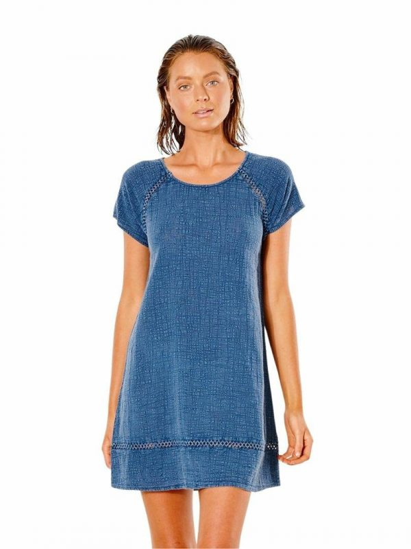 Classic Surf Shift Dress Womens Skirts And Dresses Colour is Navy
