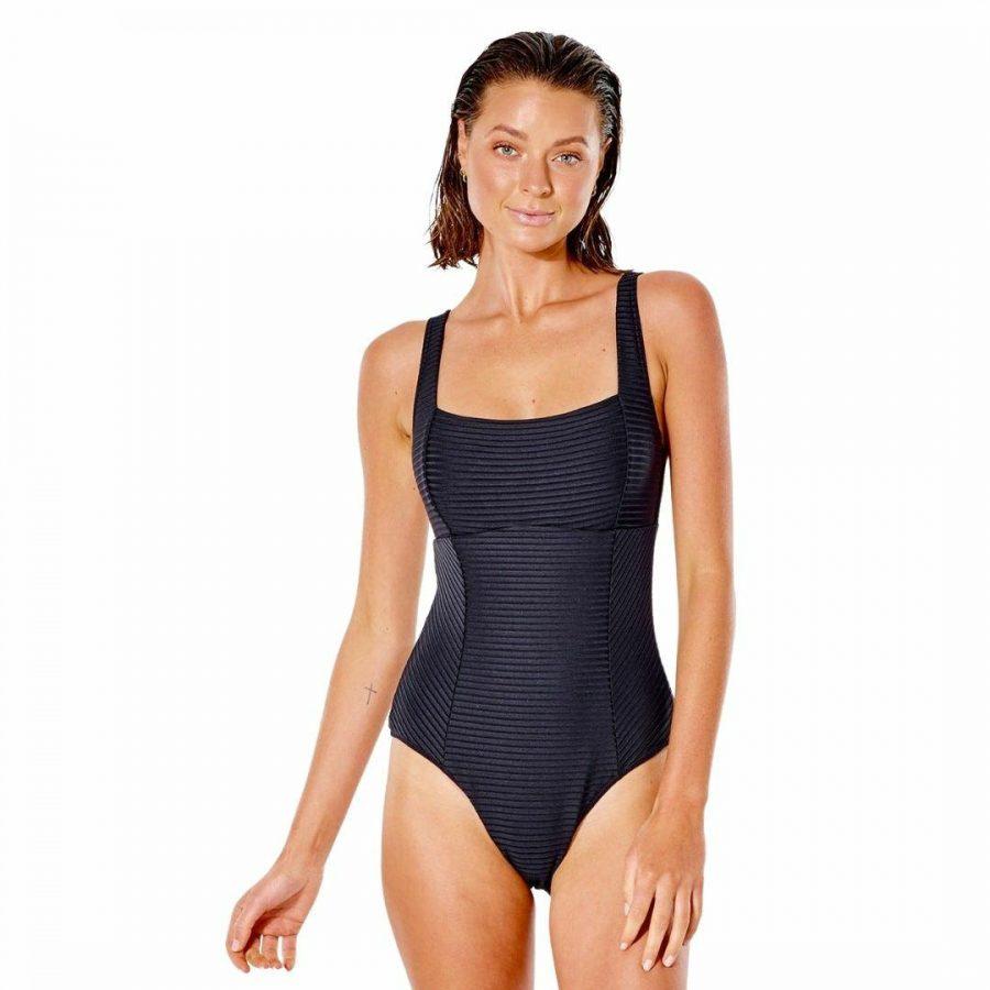 Premium Surf D-dd 1 Pc Womens Swim Wear Colour is Black