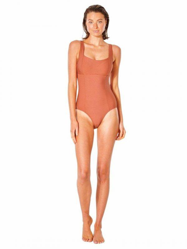 Premium Surf D-dd 1 Pc Womens Swim Wear Colour is Rhubarb