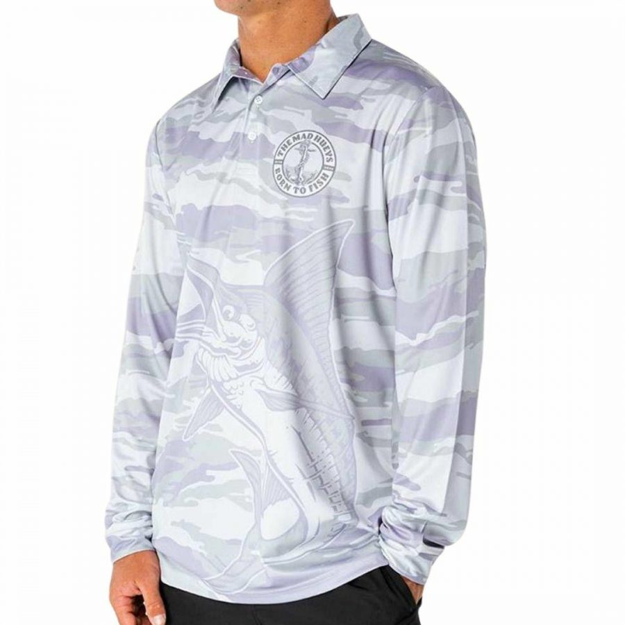 Anchor Fishing Jersey Mens Tops Colour is Grey