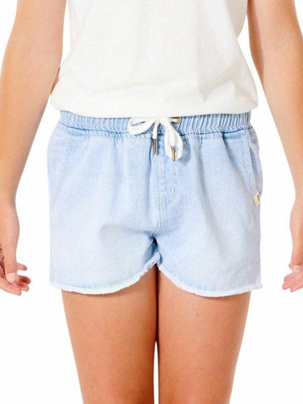 Tara Short - Girl Girls Walkshorts Colour is Blue Ice