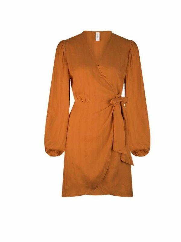 Matira Lunar Mini Dress Womens Skirts And Dresses Colour is Camel