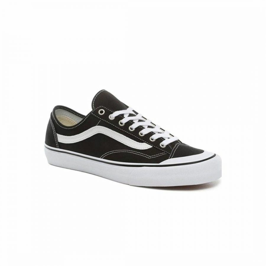 Style 36 Decon Blkwht Mens Shoes And Boots Colour is Black White