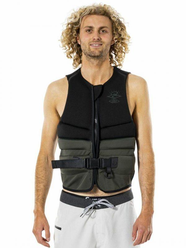 E Bomb Pro Buoy Vest Mens Bouyancy Vests Colour is Olive