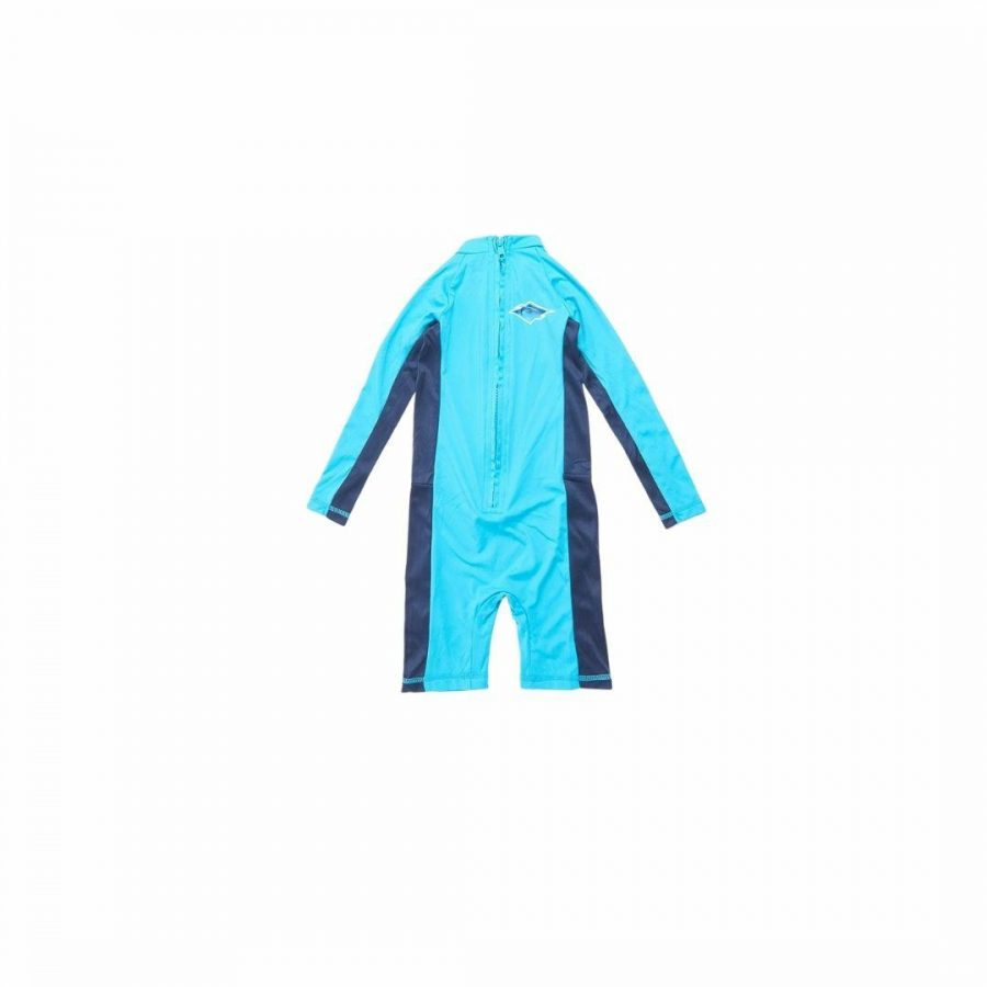 Boys 0-6 L/sl Uv Spring Kids Toddlers And Groms Rash Shirts And Lycra Tops Colour is Blue
