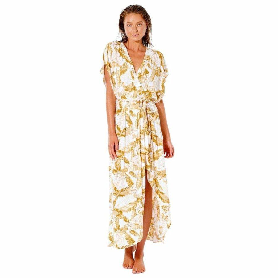 Namotu Wrap Dress Womens Skirts And Dresses Colour is White