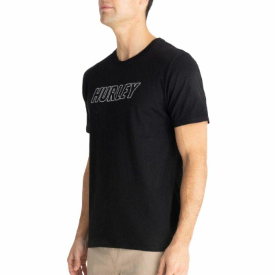 Evd Wsh+ Fastlane Outline Mens Tee Shirts Colour is Black