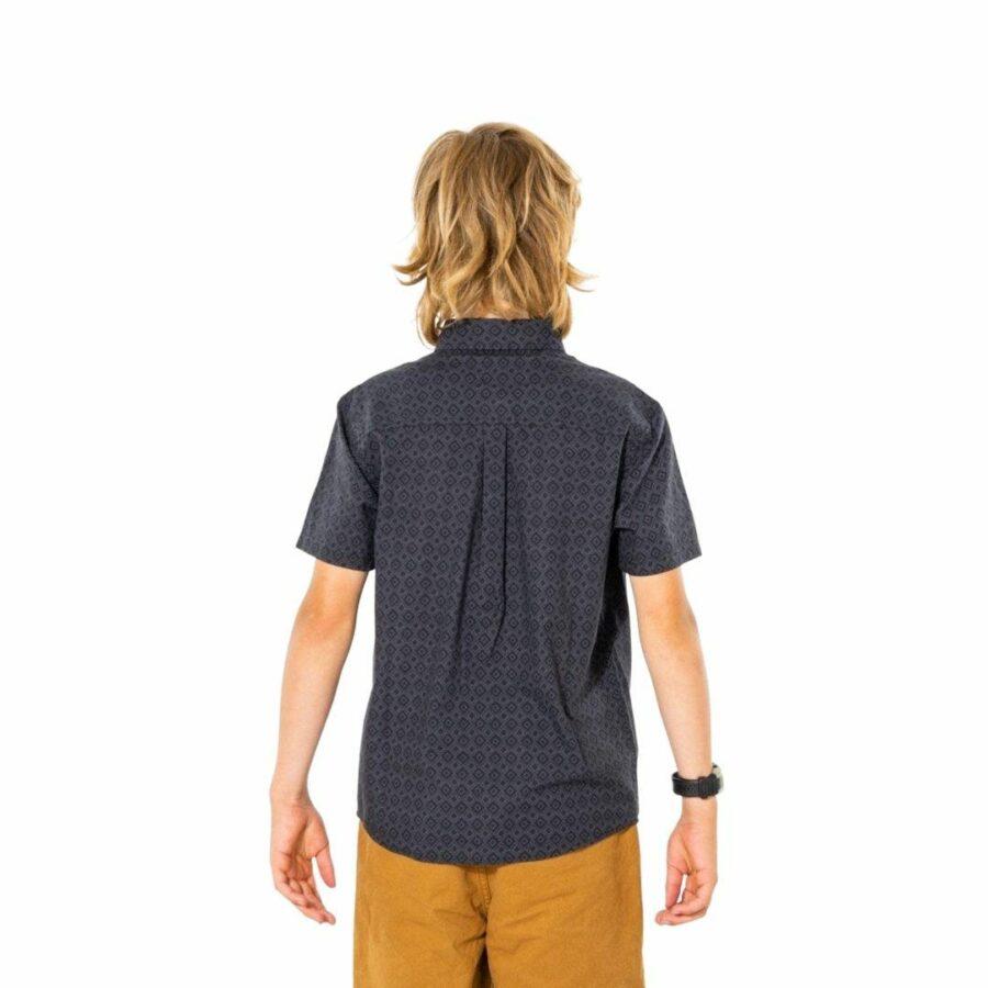 Micro Dose S/s Shirt - Bo Boys Tee Shirts Colour is Black